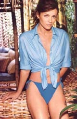 Liz Hurley  in beachwear (107 kbytes) - Click to enlarge