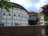 The Globe in sunny June (65 kbytes) - Click to enlarge