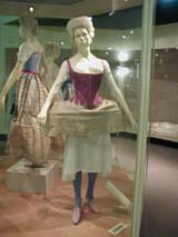 V&A - Female costume section (68 kbytes) - Click to enlarge