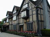 Shakespeare : Shakespeare's Birthplace (64 kbytes) - Click to enlarge