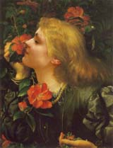 Ellen Terry in 'Choosing' by G F Watts (105 kbytes) © National Portrait Gallery, London - Click to enlarge
