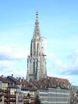 Bern, Cathedral (57 kbytes) - Click to enlarge