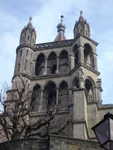 Lausanne, Cathedral (87 kbytes) - Click to enlarge