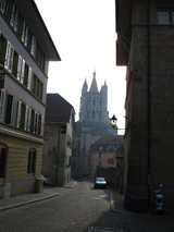 Lausanne, Cathedral (57 kbytes) - Click to enlarge