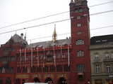 Basel, Red Building (52 kbytes) - Click to enlarge