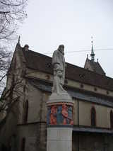 Basel, Statue (70 kbytes) - Click to enlarge