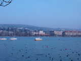 Zurich, The Lake (33 kbytes) - Click to enlarge