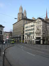 Zurich, Tram (73 kbytes) - Click to enlarge
