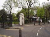 Rosery Gate Battersea Park (138 kbytes) - Click to enlarge