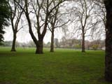 Battersea Park playing field (111 kbytes) - Click to enlarge