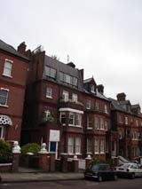 Apartments around Hampstead (89 kbytes) - Click to enlarge