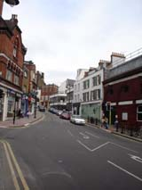 Shops in Hampstead (89 kbytes) - Click to enlarge