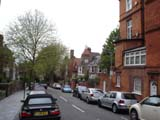 Hampstead side street (81 kbytes) - Click to enlarge