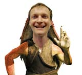 Matt as  Jar Jar Binks (63 kbytes) - Click to enlarge