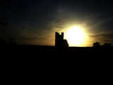 Broadway Tower Stylized Sunset 2b (27 kbytes) - Click to enlarge